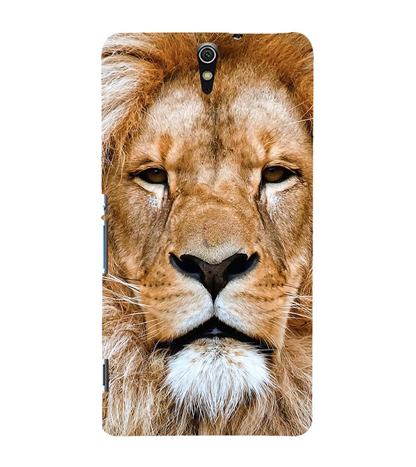 Portrait of Lion Back Cover for Sony Xperia C5