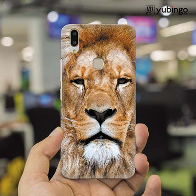 Portrait of Lion Back Cover for Vivo X21-Image2