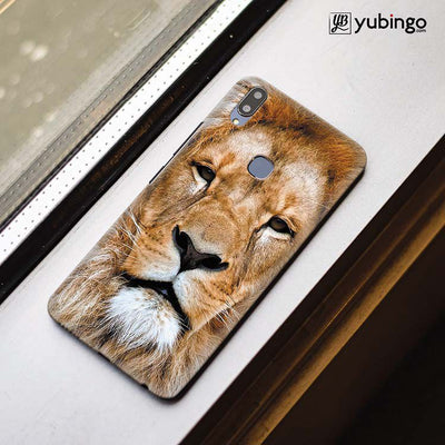 Portrait of Lion Back Cover for Vivo X21-Image3