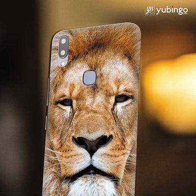 Portrait of Lion Back Cover for Vivo X21-Image4