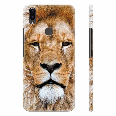 Portrait of Lion Back Cover for Vivo X21