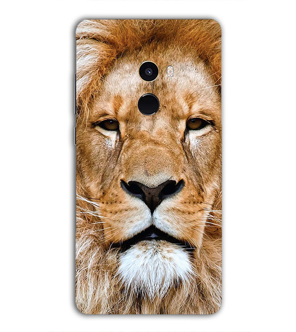 Portrait of Lion Back Cover for Xiaomi Mix 2