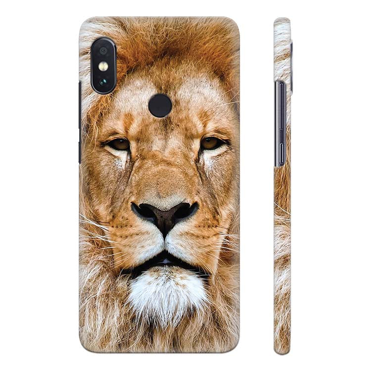 aaf68054b Buy Printed Portrait of Lion Printed Case for Xiaomi Redmi Note 5 ...