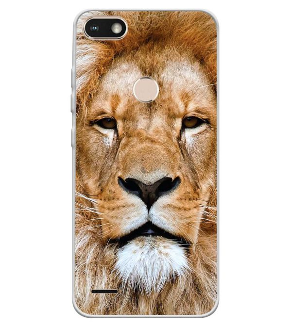 the latest 7b326 444b7 Portrait of Lion Soft Silicone Back Cover for Tecno Camon I Sky