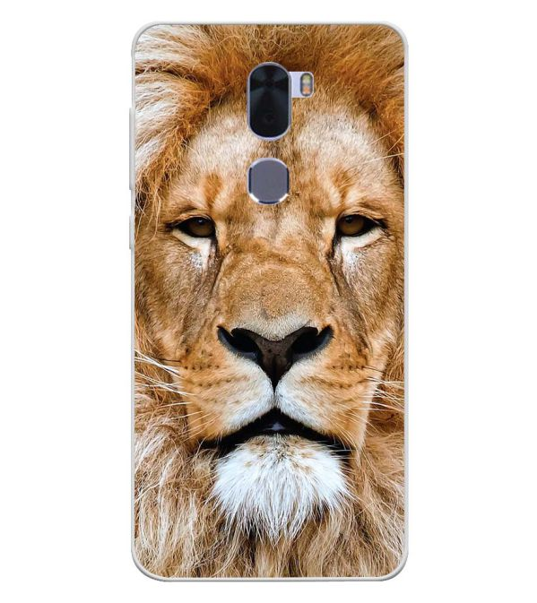 Portrait of Lion Soft Silicone Back Cover for Coolpad Cool 1
