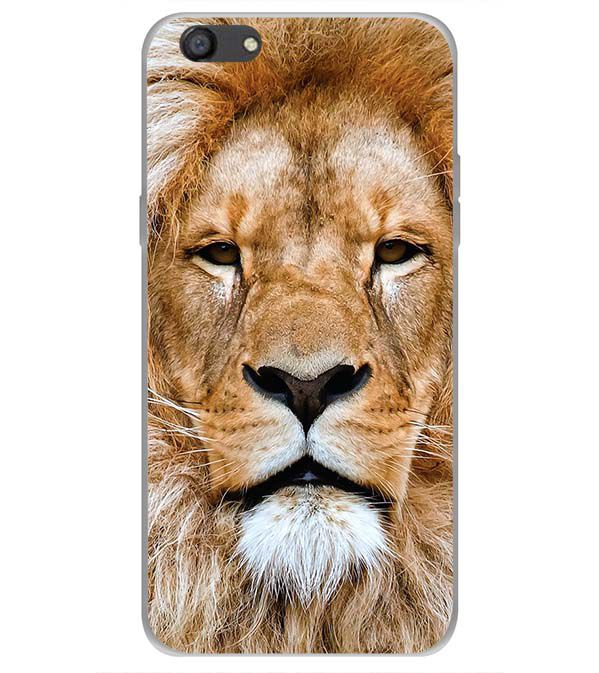 Portrait of Lion Back Cover for Oppo A77