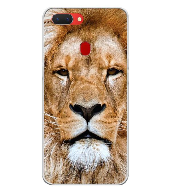 Portrait of Lion Back Cover for Oppo Realme 2 Pro-Image3