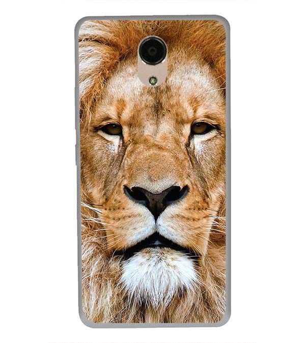 pretty nice cd70d 130fd Portrait of Lion Back Cover for Panasonic Eluga Ray Max