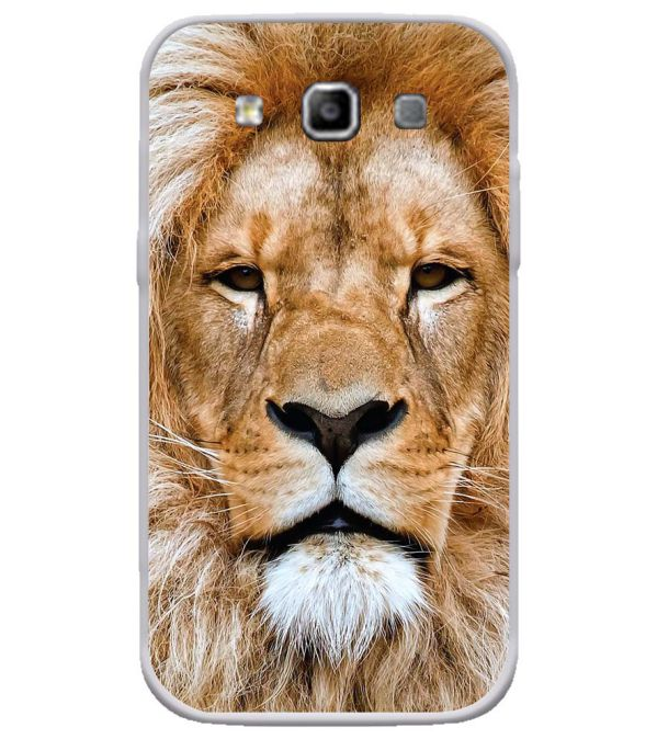 Portrait of Lion Soft Silicone Back Cover for Samsung Galaxy Grand Quattro 8552
