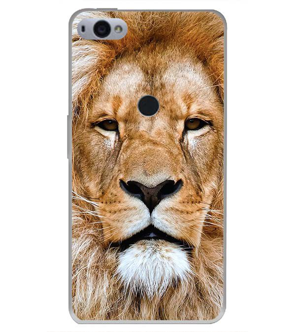 Portrait of Lion Back Cover for Smartron SRT Phone