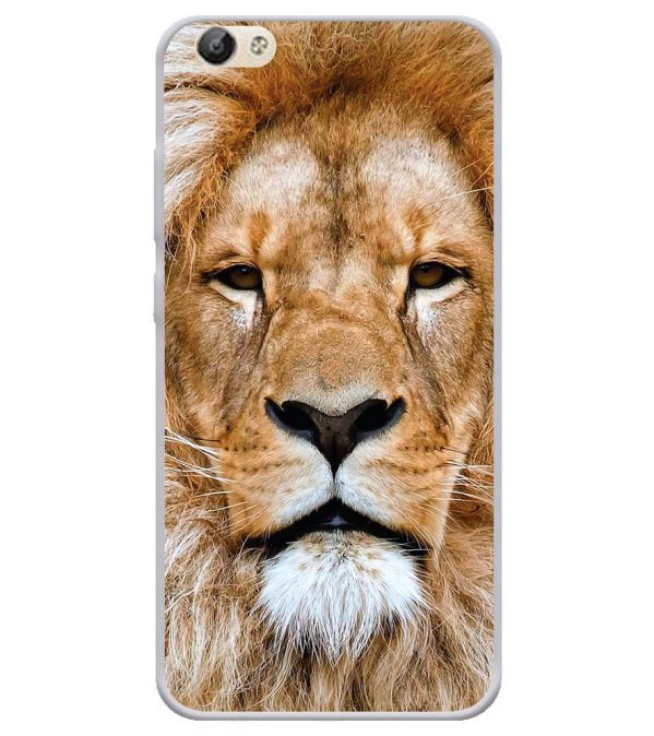 Portrait of Lion Soft Silicone Back Cover for Vivo Y66