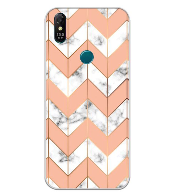 Printed Marble Pattern Back Cover for Coolpad Cool 3 Plus-Image3