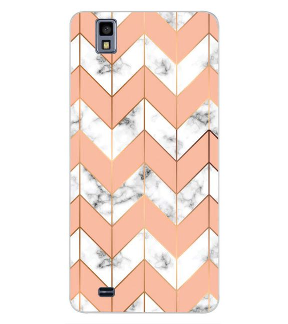 Printed Marble Pattern Back Cover for Gionee Pioneer P2M-Image3