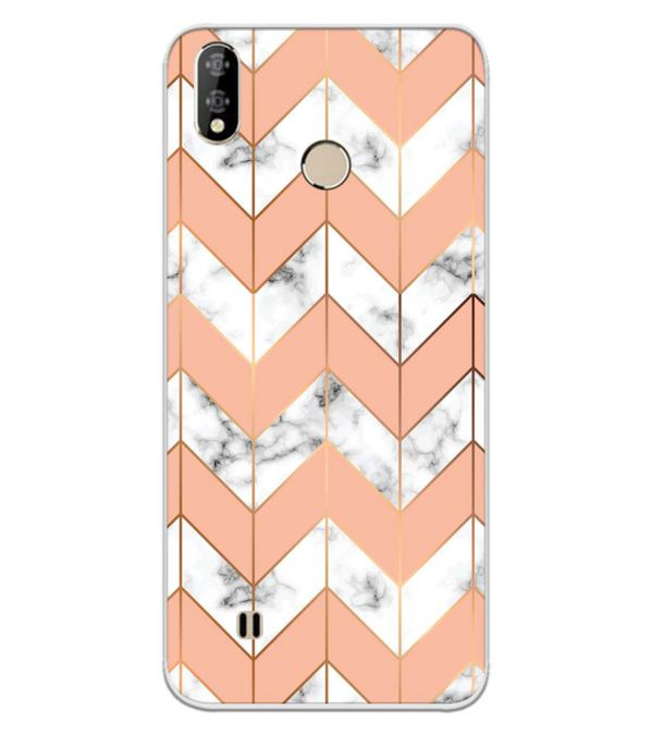 Printed Marble Pattern Back Cover for Coolpad Mega 5-Image3