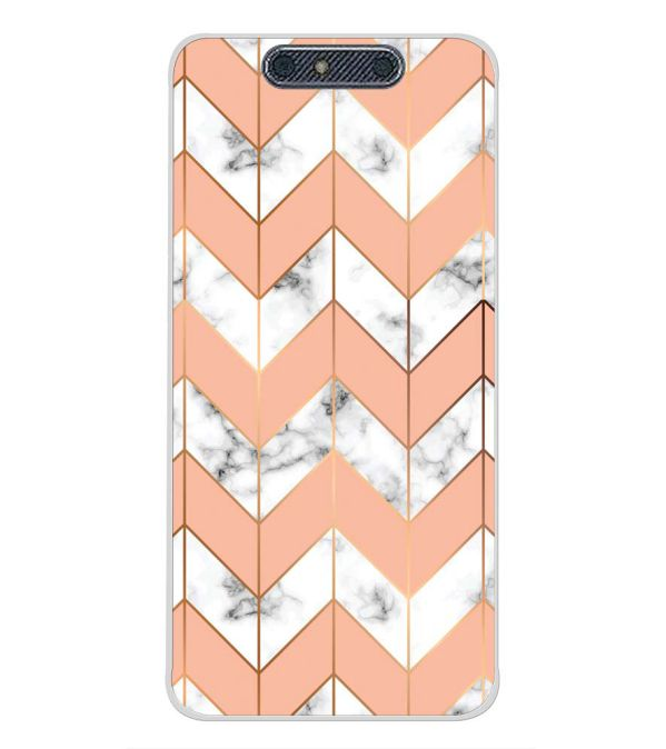 Printed Marble Pattern Back Cover for Micromax Dual 4 E4816-Image3