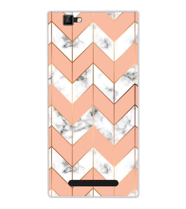 Printed Marble Pattern Back Cover for Xolo Era 1X Pro-Image3