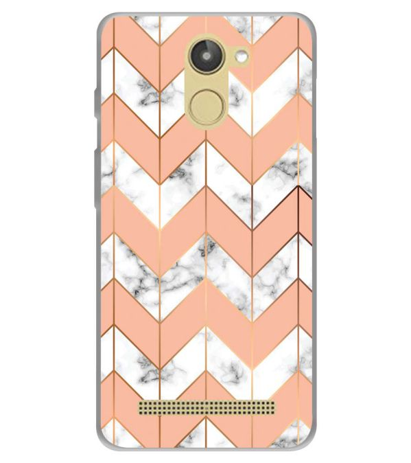 Printed Marble Pattern Soft Silicone Back Cover for 10.or D (Tenor D)