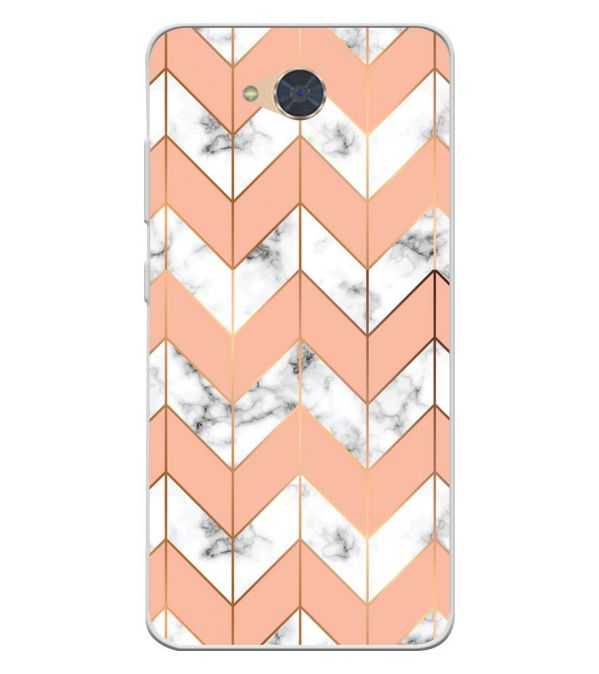 Printed Marble Pattern Soft Silicone Back Cover for Gionee S6Pro