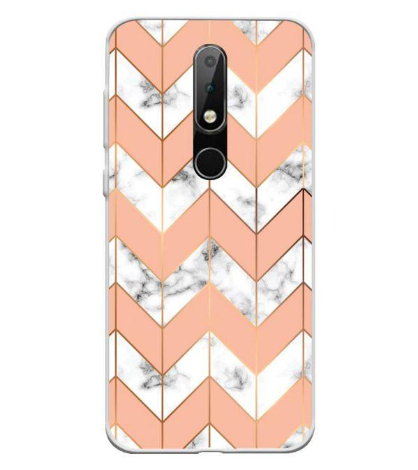 best website b4534 8288b Pattern Collection Back Cover for Nokia 6.1 Plus (Nokia X6)