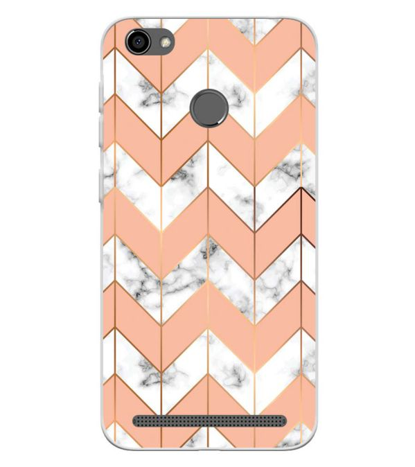 Printed Marble Pattern Soft Silicone Back Cover for Panasonic P85 NXT