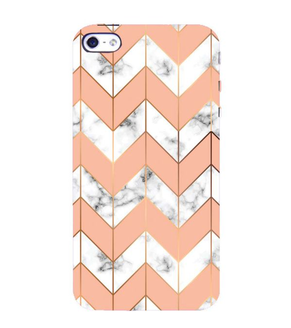 Printed Marble Pattern Back Cover for Apple iPhone 4 : 4S