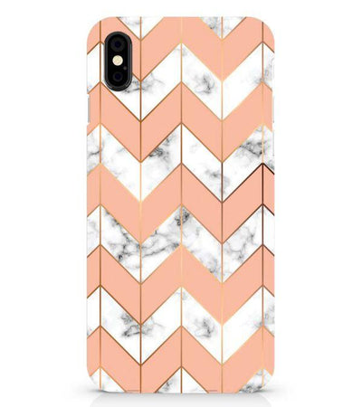 Printed Marble Pattern Back Cover for Apple iPhone X