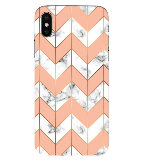 Printed Marble Pattern Back Cover for Apple iPhone XS Max (Big 6.5 Inch Screen)