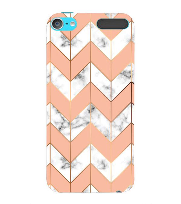Printed Marble Pattern Back Cover for Apple iPod Touch 6