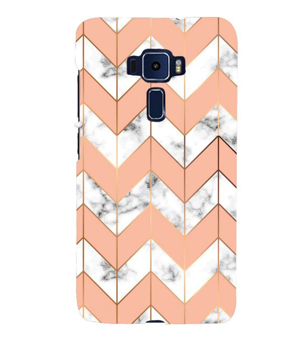 Printed Marble Pattern Back Cover for Asus Zenfone 3 ZE520KL