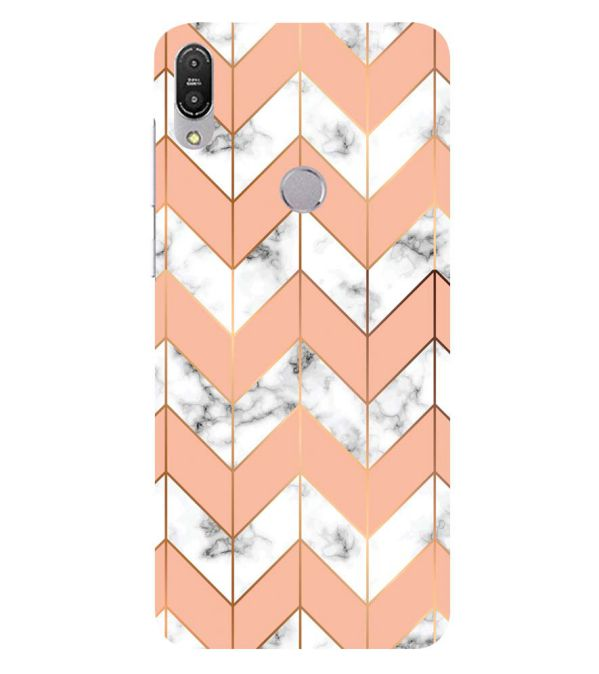 Printed Marble Pattern Back Cover for Asus Zenfone Max Pro M1