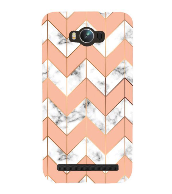 Printed Marble Pattern Back Cover for Asus Zenfone Max ZC550KL