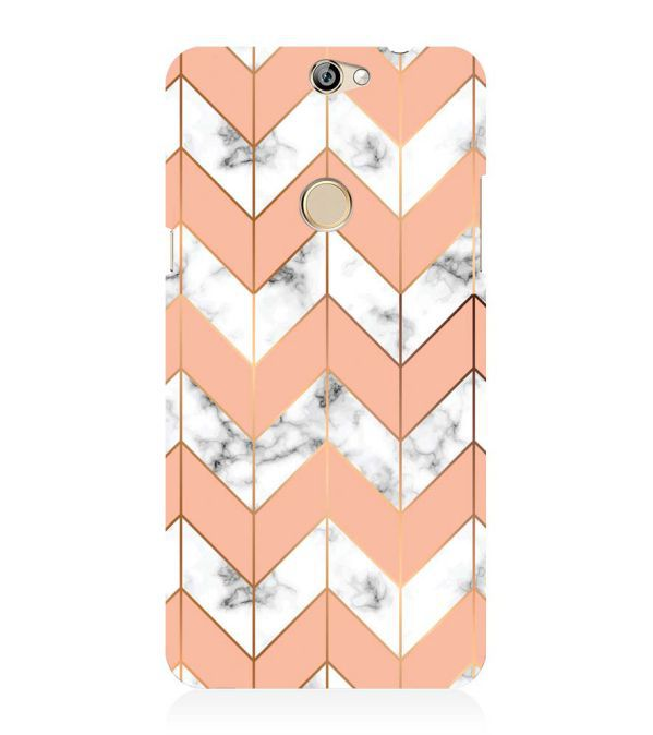 Printed Marble Pattern Back Cover for Coolpad Max