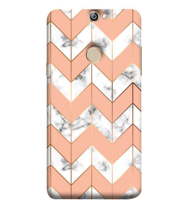 Printed Marble Pattern Back Cover for Coolpad Max A8