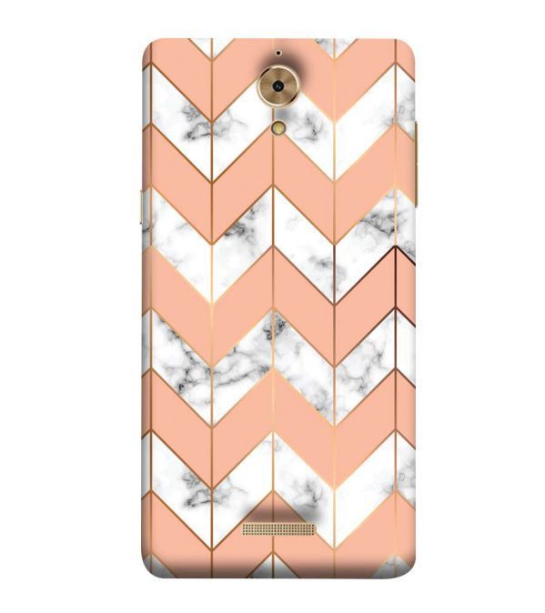 Printed Marble Pattern Back Cover for Coolpad Mega 2.5D