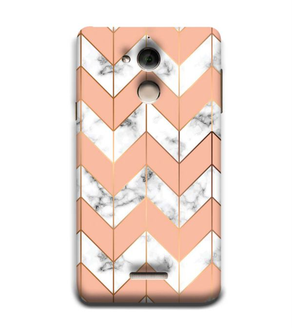 Printed Marble Pattern Back Cover for Coolpad Note 5