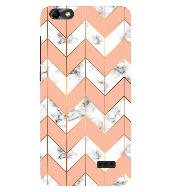 Printed Marble Pattern Back Cover for Huawei Honor 4C