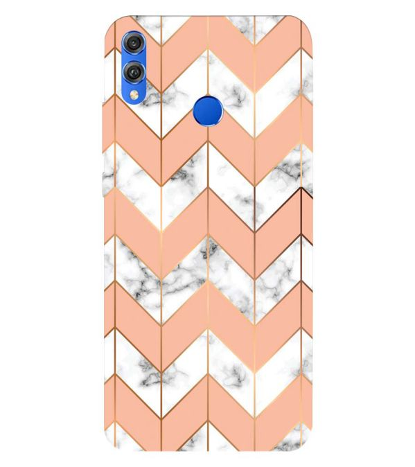 Printed Marble Pattern Back Cover for Huawei Honor 8X