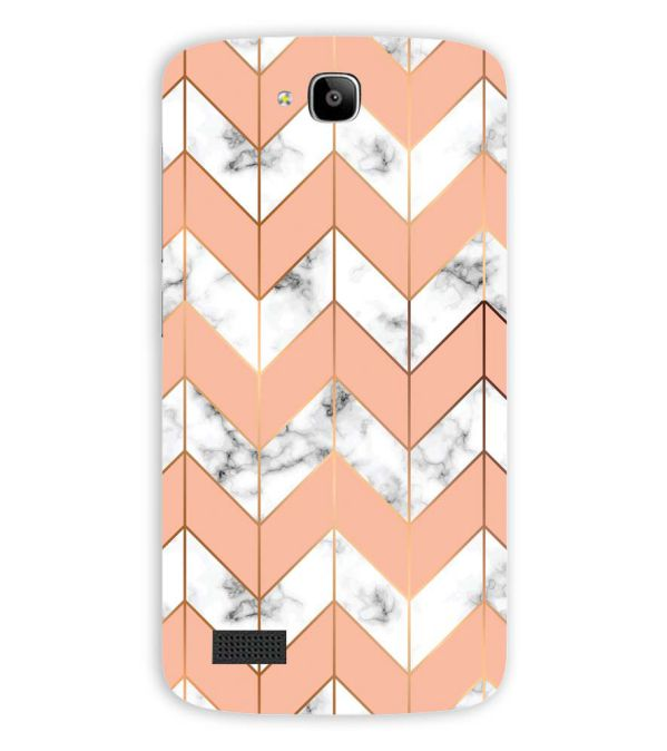 Printed Marble Pattern Back Cover for Huawei Honor Holly