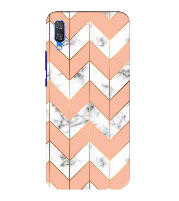 Printed Marble Pattern Back Cover for Huawei Nova 3