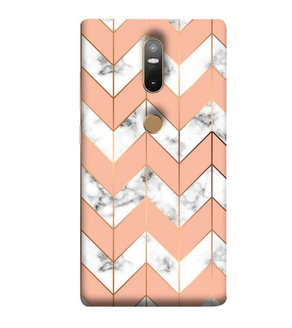 Printed Marble Pattern Back Cover for Lenovo Phab 2 Plus