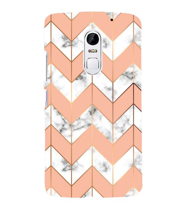 Printed Marble Pattern Back Cover for Lenovo Vibe X3