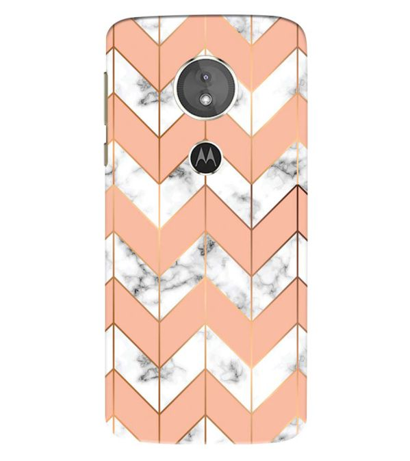 Printed Marble Pattern Back Cover for Motorola Moto E5 Play