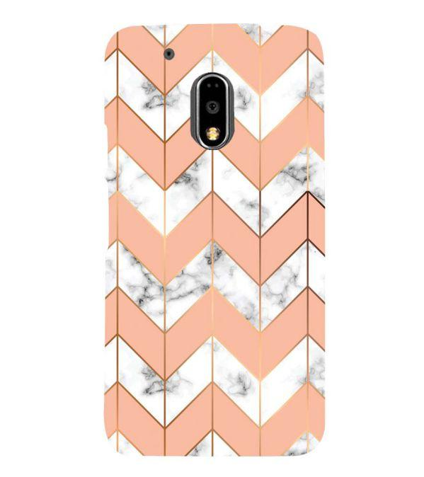Printed Marble Pattern Back Cover for Motorola Moto G4 and Moto G4 Plus