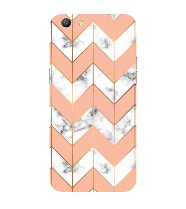 Printed Marble Pattern Back Cover for Oppo A57 : A39