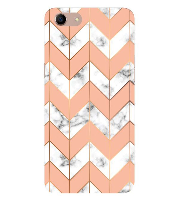 Printed Marble Pattern Back Cover for Oppo A83