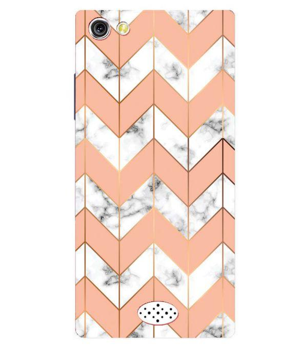 Printed Marble Pattern Back Cover for Oppo Neo 5