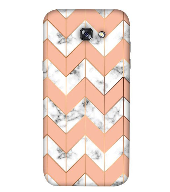 Printed Marble Pattern Back Cover for Samsung Galaxy A5 (2017)