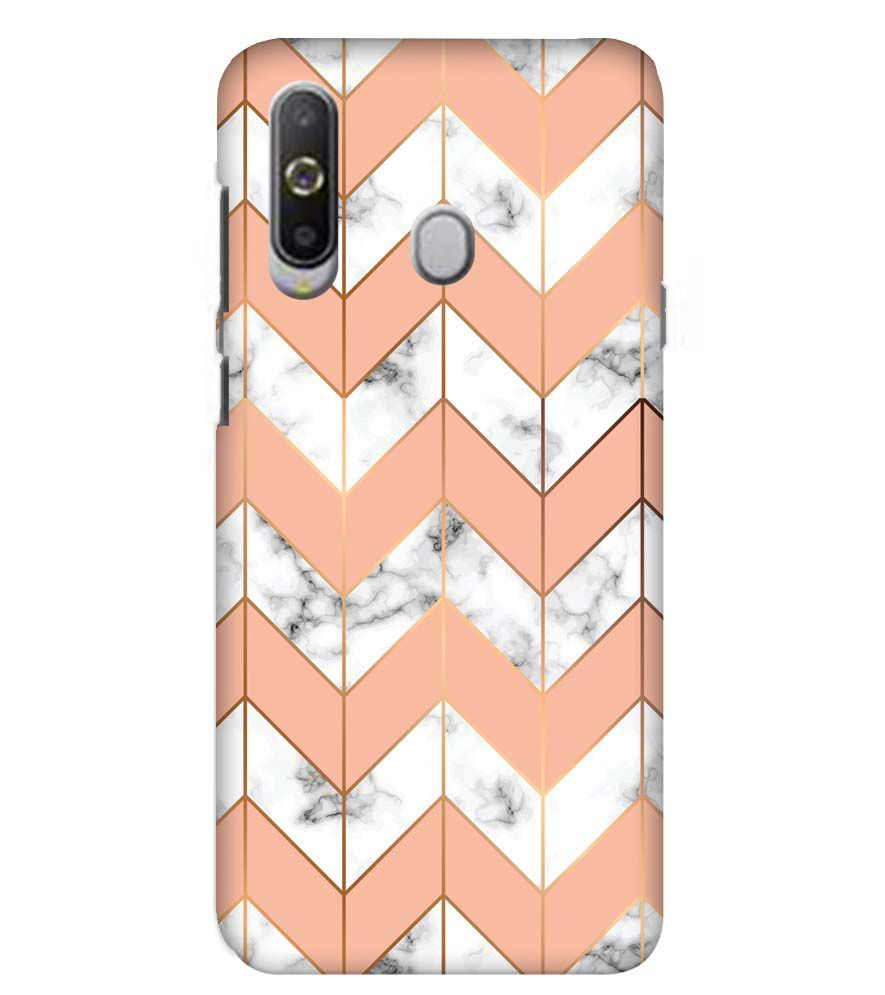 Printed Marble Pattern Back Cover for Samsung Galaxy A8s