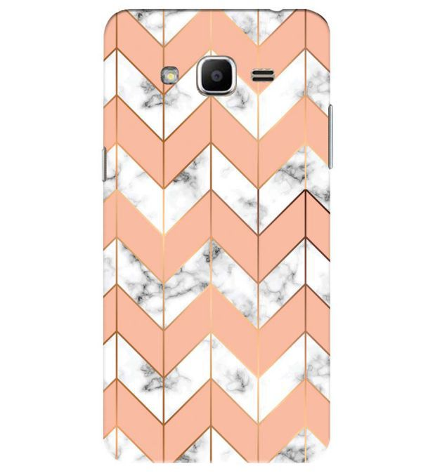 Printed Marble Pattern Back Cover for Samsung Galaxy J2 Ace