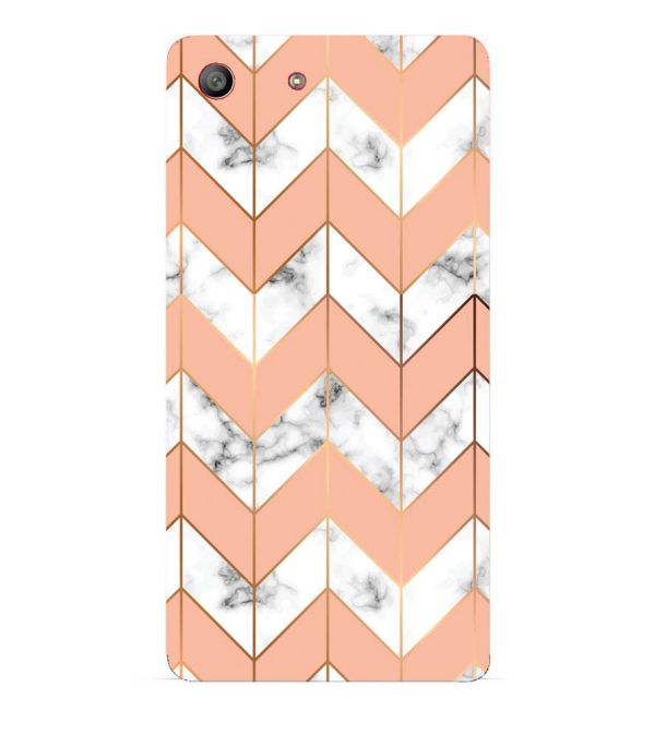 Printed Marble Pattern Back Cover for Sony Xperia M5